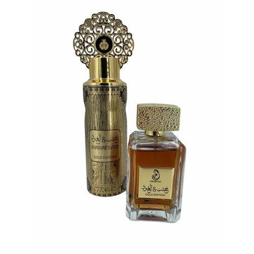 Arabiyat My Perfumes Khashab en Oud Gold Edition Set