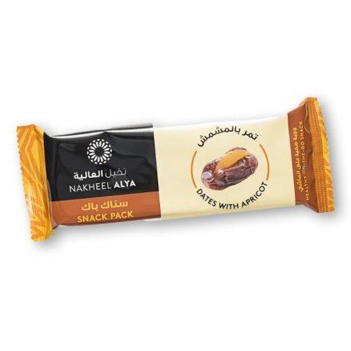 Nakheel Alya Dadel Snack Pack – Abrikoos