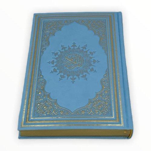 Thermo Leer Koran Babyblauw 17x25CM