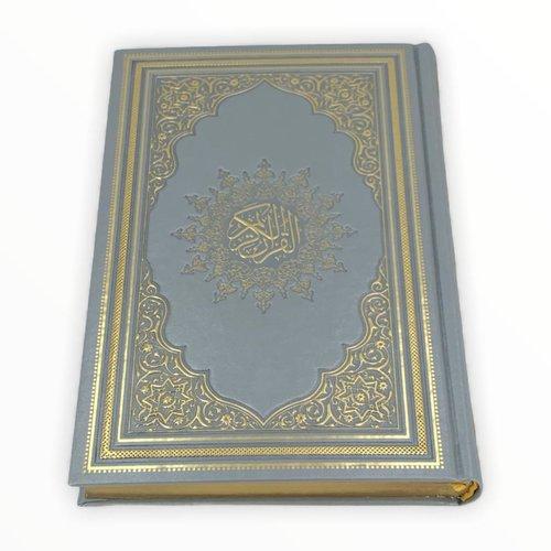 Thermo Leer Koran Zilver 17x25CM