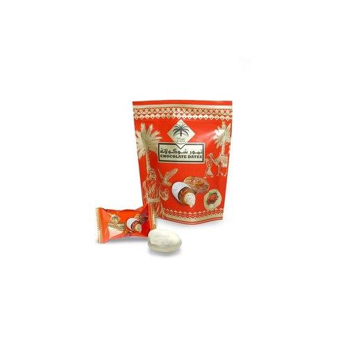 Siafa Witte Chocolade Dadels met Rozen Smaak