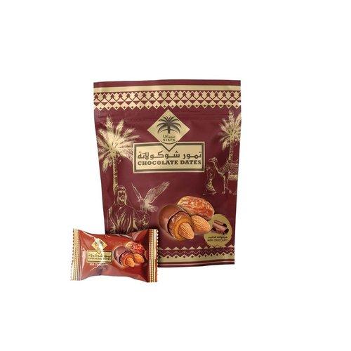 Siafa Chocolade Dadels met Amandelen