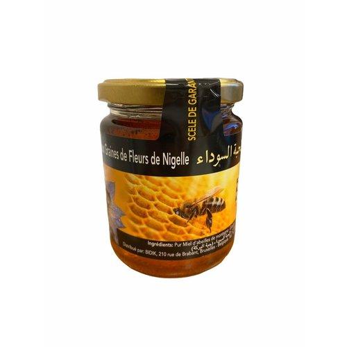 Honing met Nigella - Blackseed -Zwarte Komijn