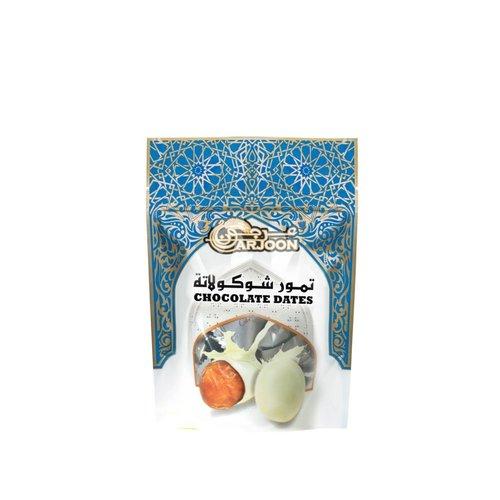 Arjoon Dates Witte Chocolade Dadels