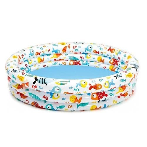 Intex Intex Opblaas Zwembad 3 rings met vrolijke Print