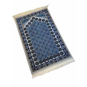 Gebedskleed Soft Blauw Wit