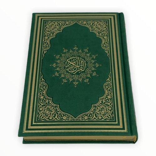 Thermo Leer Koran Groen 17x25CM