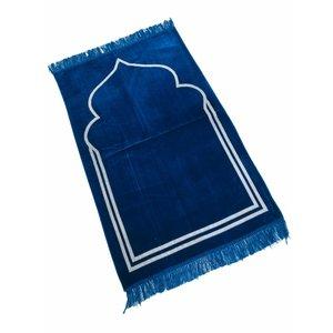 Gebedskleed Wit Koepel Motief Turquoise