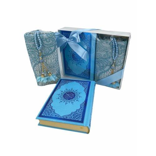 Azra Cadeau Set Blauw
