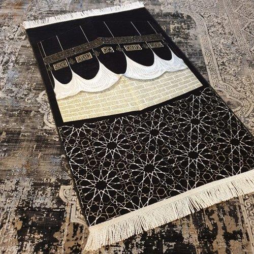 Akustik Gebedskleed Kaba Zwart