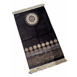 Premium Gebedskleed Art Design Zwart