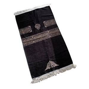 Premium Kaba Gebedskleed Zwart