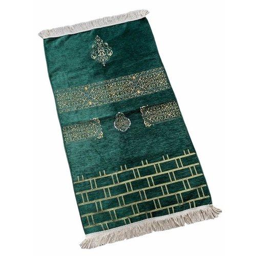 Premium Kaba Gebedskleed Groen