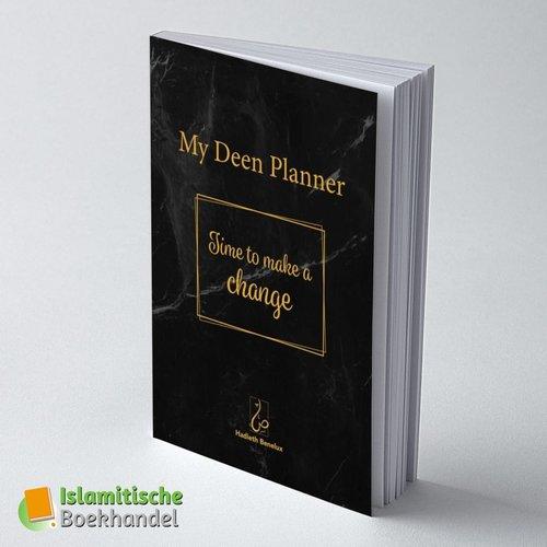 My Deen Planner Zwart