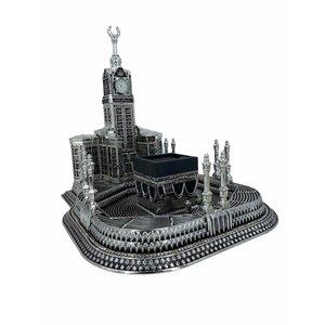 Compleet Mekka Print Decoratie Zilver