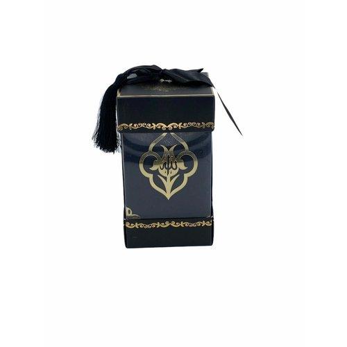 Fluwelen Koran met Sjaal Zwart