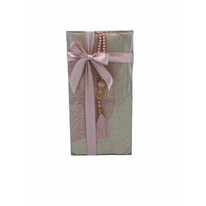 Prayer Dress with Pink Tasbeeh
