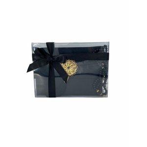 Yasin Kuran Guide: Luxury bag with Tasbeeh Black