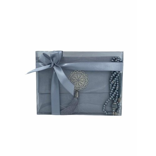 Yasin Kuran Guide: Luxury bag with Tasbeeh Silver