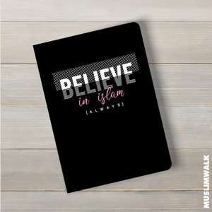 MuslimWalk Believe in Islam - A5 Notitieboek