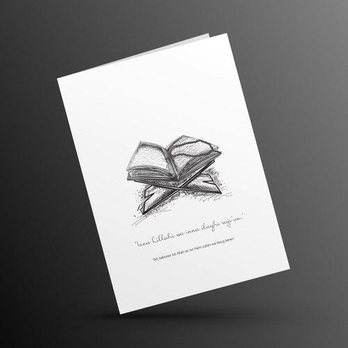 Ozdesy Designs Overlijden Condoleance KoranHouder