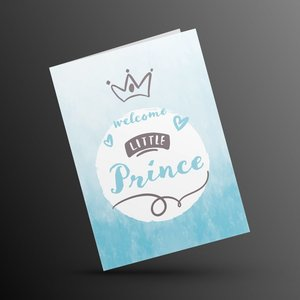 Ozdesy Designs Welcome Little Prince