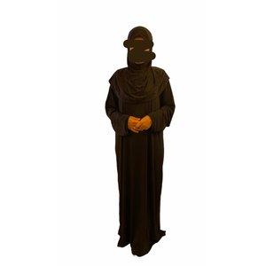 Founara Gebedskleding Stretch 1 Delig Zwart