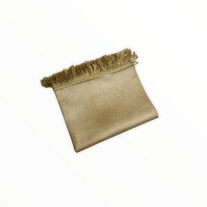 Leather Look Gebedskleed Geel