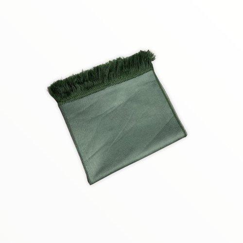 Leather Look Gebedskleed Groen