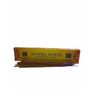 Karamat Collection Sandal Wood Wierook Stokjes