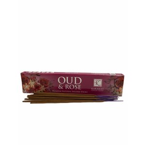 Karamat Collection Old Rose and Incense Sticks