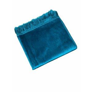 Fluwelen Gebedskleed Turquoise