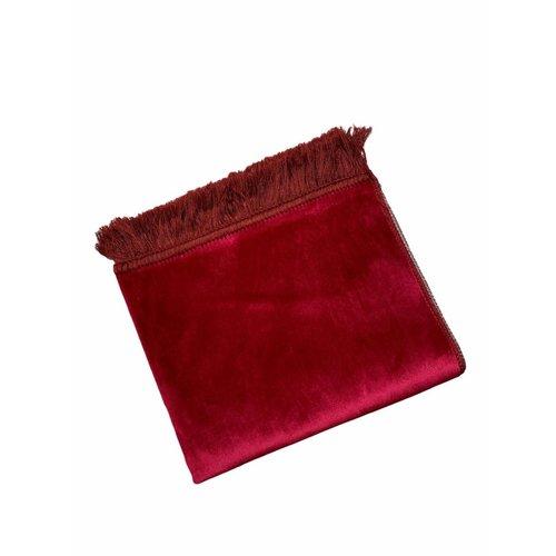 Fluwelen Gebedskleed Aardbei Rood