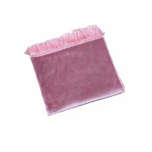 Prayer Pink Velvet Dress