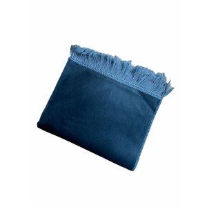 Fluwelen Gebedskleed IJsblauw