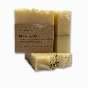 Nourish and Flourish kefir Soap