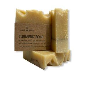 Nourish and Flourish Kurkuma Zeep - Turmeric Soap