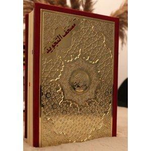 Luxe Tajweed Koran Rood