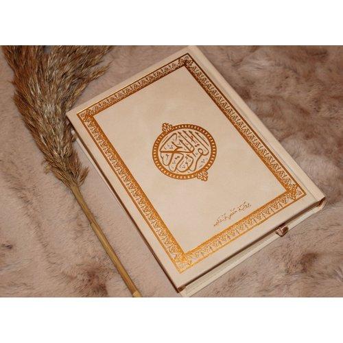 Fluwelen Koran Groot - Creme