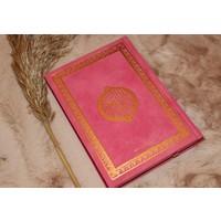 Fluwelen Koran - Donker Roze