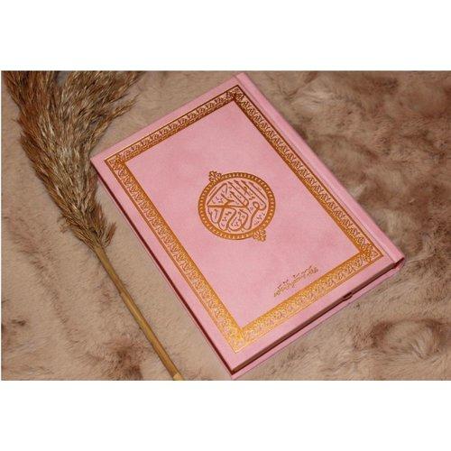 Fluwelen Koran - Roze