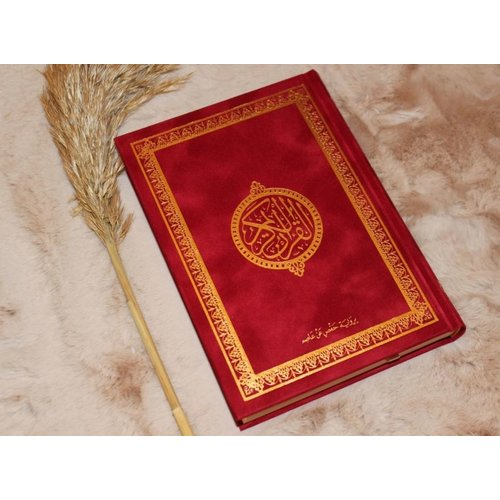 Fluwelen Koran - Rood