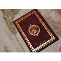 Fluwelen Koran - Bordeau