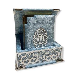 Luxe Koran in Doos Babyblauw