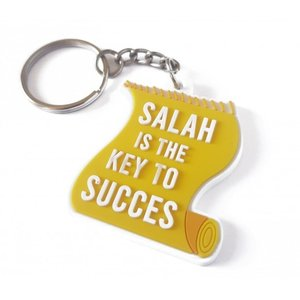 Salah Is The Key To Succes Geel Sleutelhanger