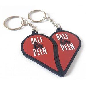 Half His & Her Deen Sleutelhanger