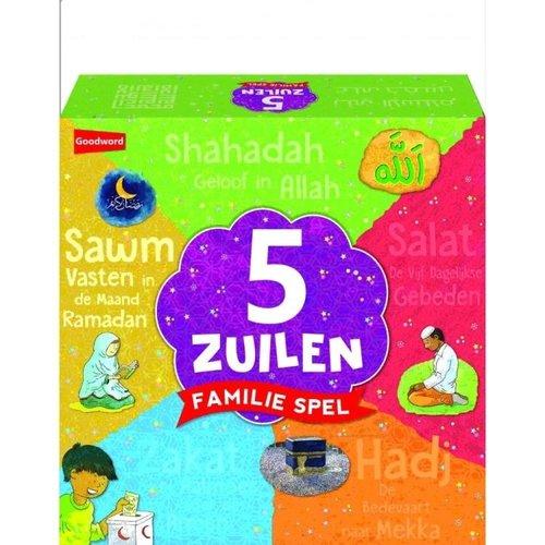 5 Zuilen Familie Spel (MIX)