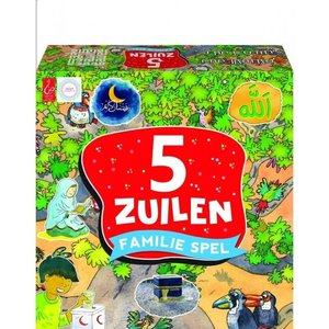 5 Zuilen Familie Spel (multicolor)