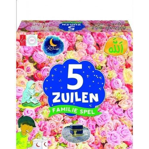 5 Zuilen Familie Spel (bloemen)