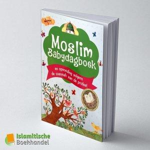 Moslim Babydagboek - Blauw